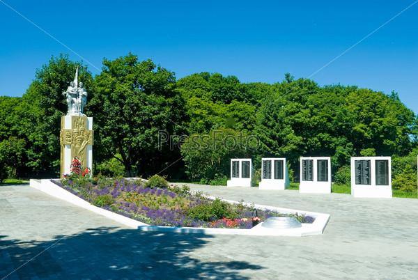 Мемориал второй мировой войны. Балтийск. Россия