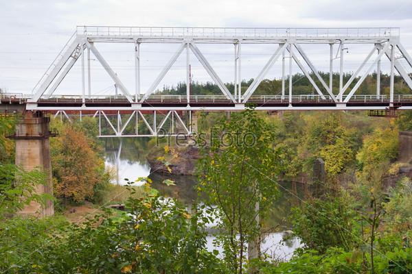 Железнодорожный мост в г. Коростень, Украина