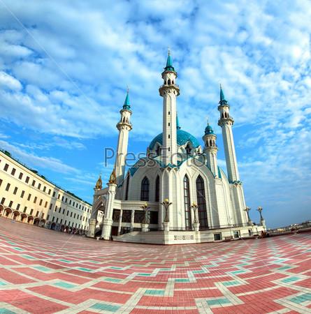 Фотография на тему Мечеть Кул Шариф в Казани, Россия