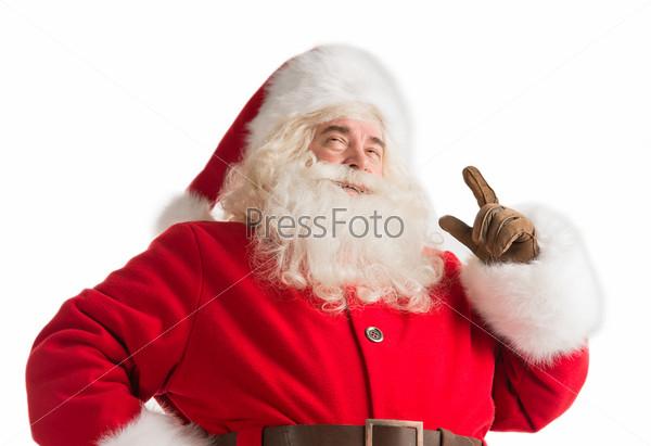 Фотография на тему Портрет счастливого Санта-Клауса