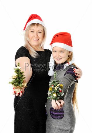 Фотография на тему Мать с дочерью