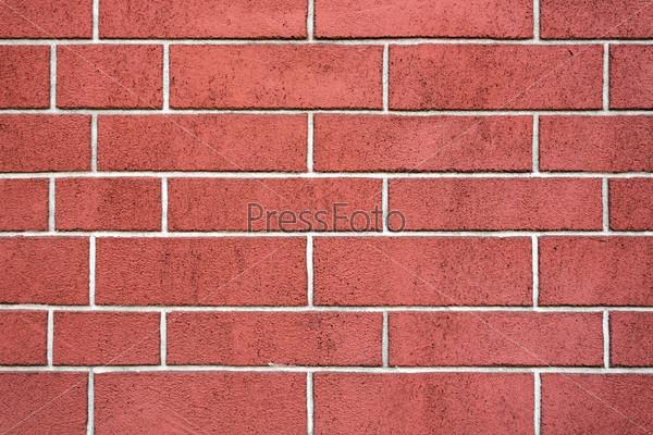 Фотография на тему Красная кирпичная стена