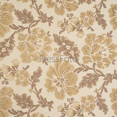 Фотография на тему Ткань с цветочным узором