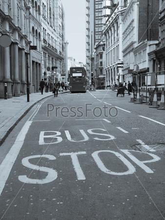Улица в Лондоне, Англия, Великобритания