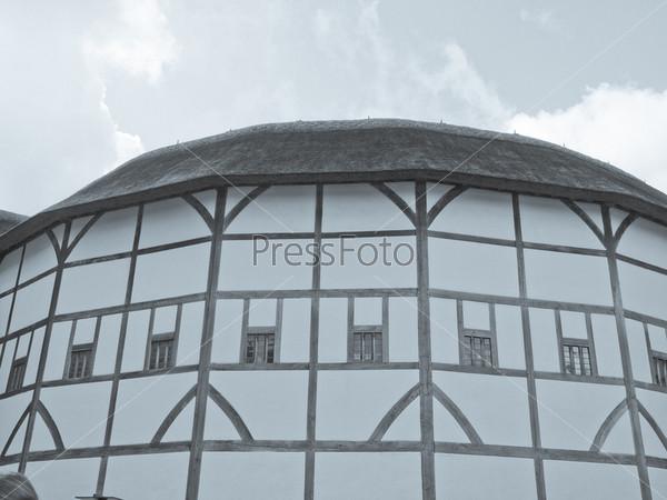 Фотография на тему Старый театр Шекспировский Глобус в Лондоне, Великобритания