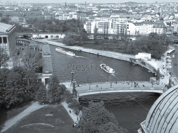 Фотография на тему Берлин с высоты птичьего полета, Германия