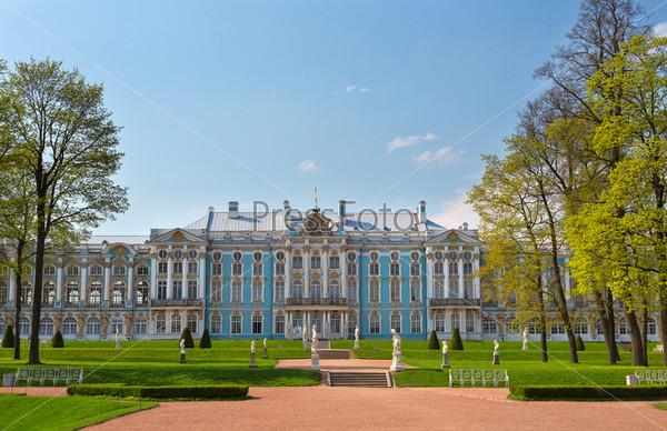 Фотография на тему Екатерининский дворец, Санкт-Петербург, Россия