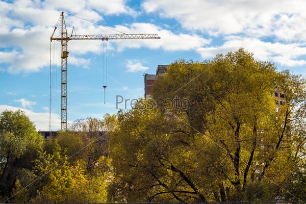 Фотография на тему Строящееся здание