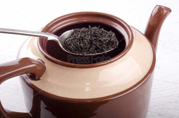 Фотография на тему Заварка в чайнике