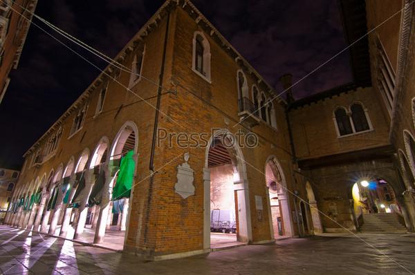 Фотография на тему Венеция, Италия, рыбный рынок