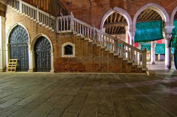 Венеция, Италия, рыбный рынок