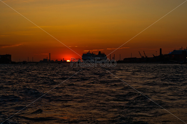 Венеция, Италия, необычный живописный вид