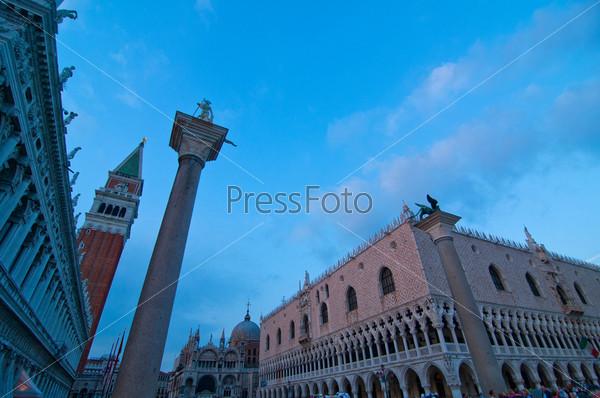Площадь Святого Марко в Венеции, Италия