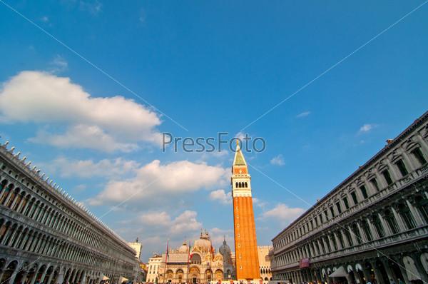 Фотография на тему Италия, площадь Святого Марко в Венеции