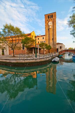 Фотография на тему Венеция Италия, церковь Сан Николо де Мендиколи