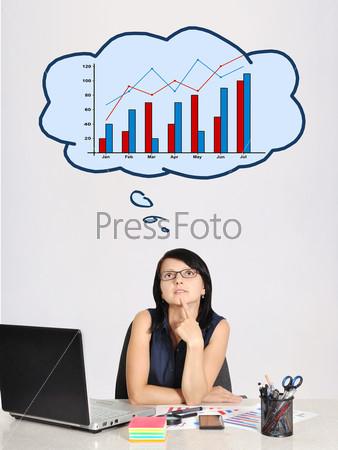 Думающая бизнес-леди