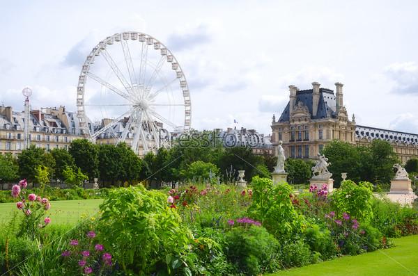 Фотография на тему Сад Тюильри, Париж