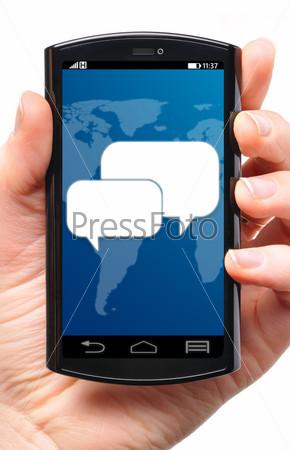 Сообщение в телефоне