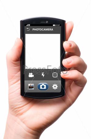 Фотография на тему Камера в телефоне