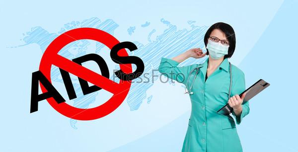 Фотография на тему Остановите СПИД, символ