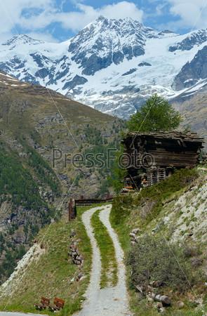 Фотография на тему Летние Альпы