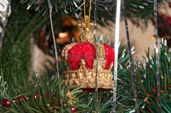 Елочные украшения на Рождественской елке