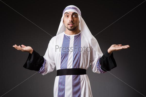 Фотография на тему Араб в глубокой задумчивости