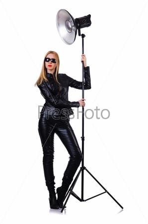 Фотография на тему Женщина в студии