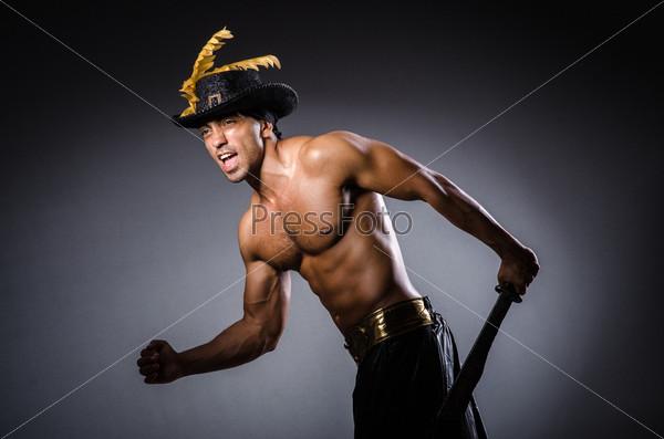 Пират в темной комнате