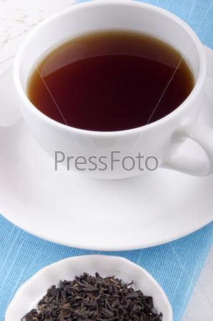 Английский чай в чашке