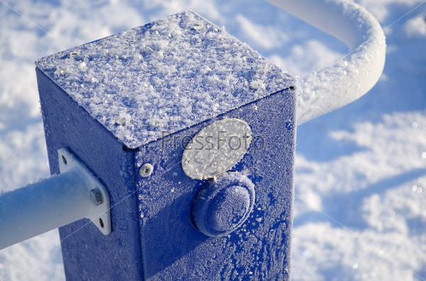 Мороз на тренажере