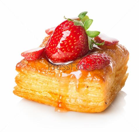 Фотография на тему Пирог из слоеного теста