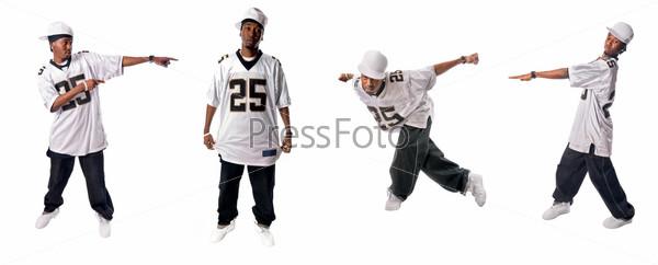 Крутой танцор хип-хоп
