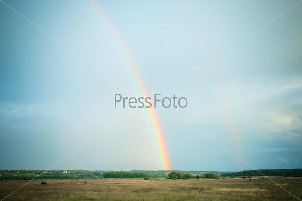 Фотография на тему Двойная радуга