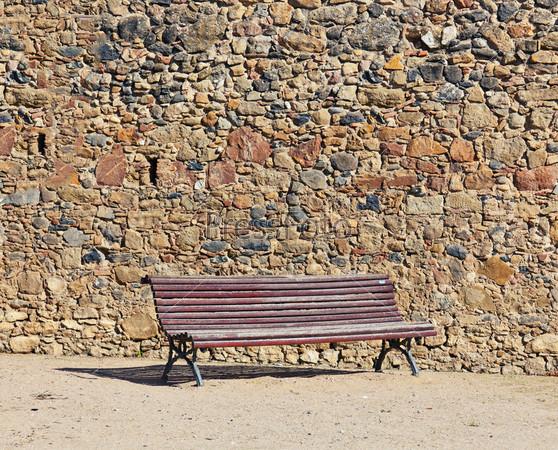 Старинная скамья