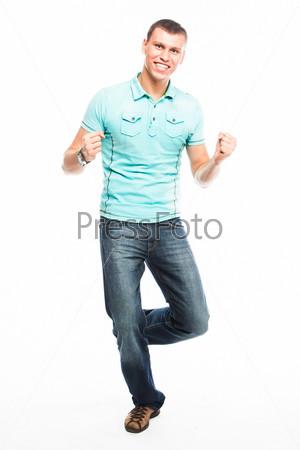 Фотография на тему Молодой и симпатичный мужчина