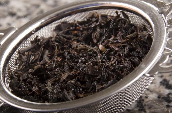 Фотография на тему Листовой чай в ситечке