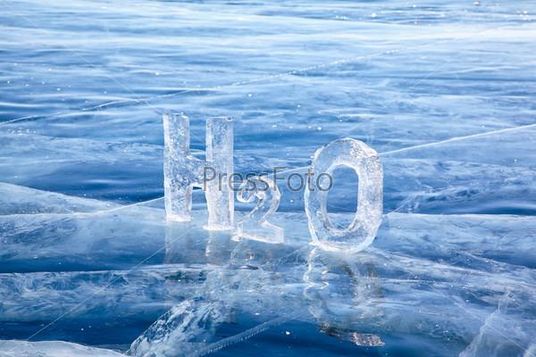 Фотография на тему Химическая формула воды