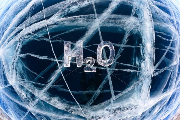 Фотография на тему Химическая формула воды H2O