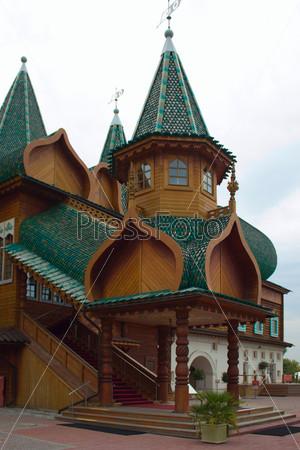 Фотография на тему Дворец царя Алексея Михайловича в Коломенском. Москва. Россия