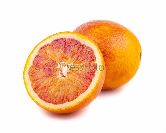 Фотография на тему Половина и полный кроваво-красные апельсины