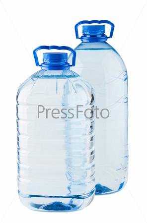 Фотография на тему Пара больших бутылок воды