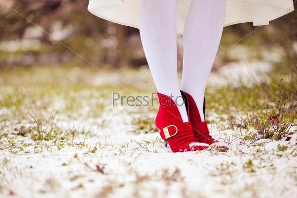 Фотография на тему Красные туфли