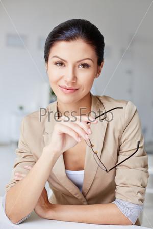 Элегантная бизнес-леди