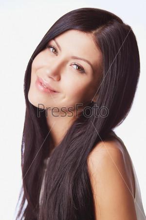 Фотография на тему Симпатичная брюнетка