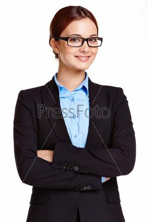 Симпатичная деловая женщина