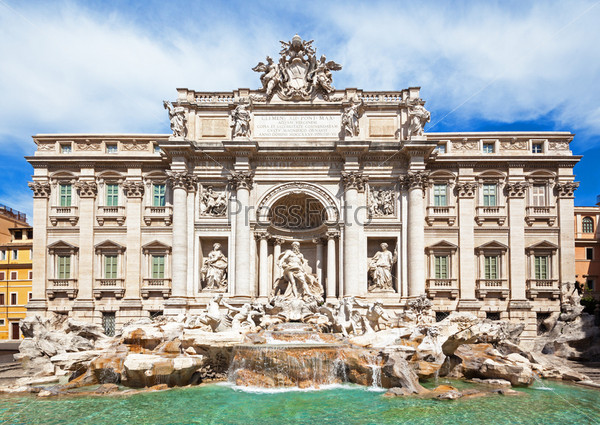 Фотография на тему Знаменитый фонтан Треви