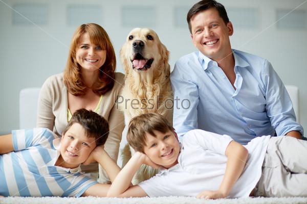 Фотография на тему Большая семья