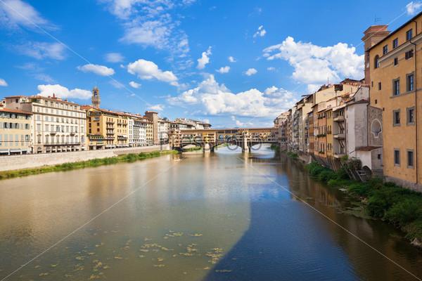 Панорама Флоренции с Понте Веккьо