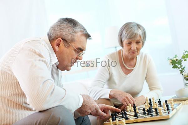 Фотография на тему Игра в шахматы